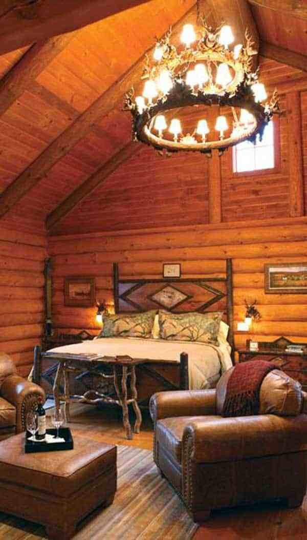 Best 21 Extraordinary Beautiful Rustic Bedroom Interior Designs With Pictures