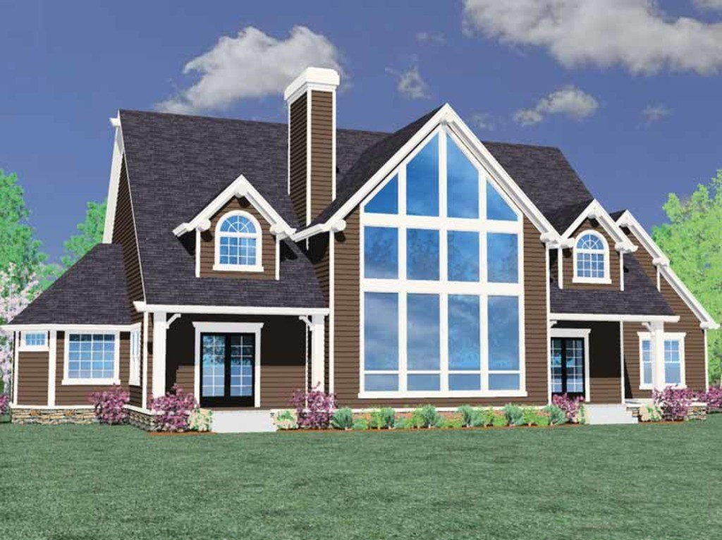 Best Craftsman Style House Plan 6 Beds 4 5 Baths 4783 Sq Ft With Pictures