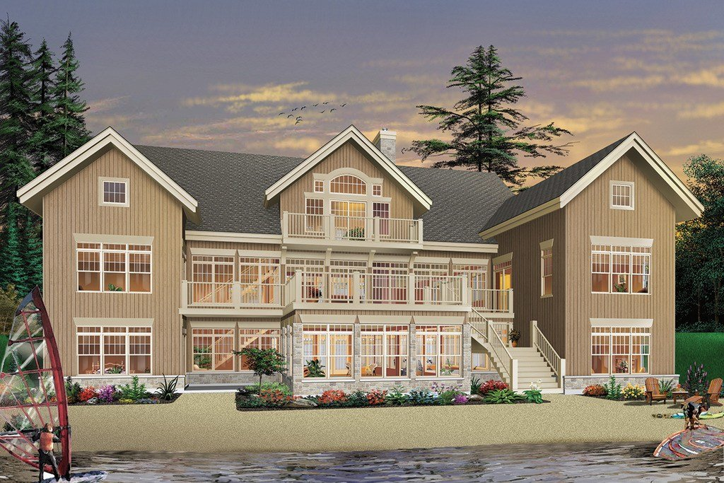Best Beach Style House Plan 7 Beds 6 5 Baths 9028 Sq Ft Plan With Pictures