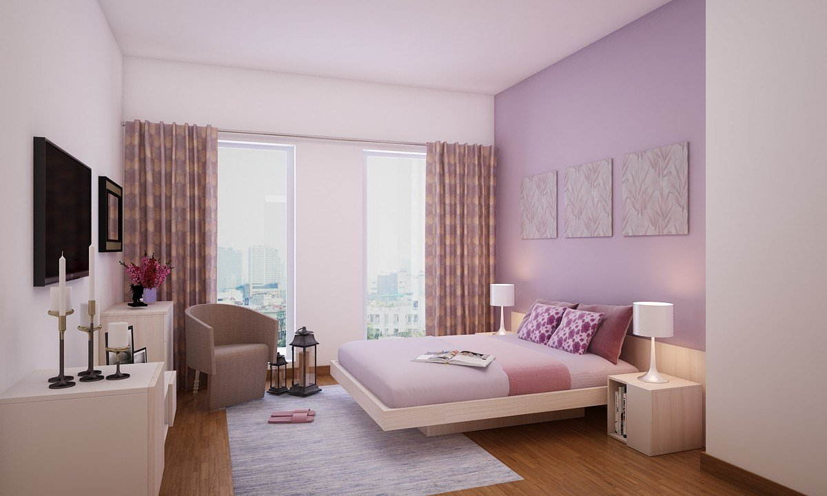 Best Buy Plush Pastel Master Bedroom Online In India Livspace Com With Pictures