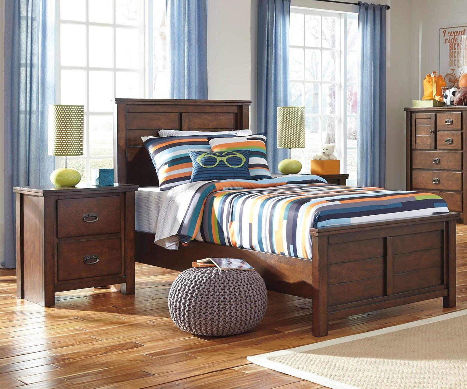 Best Ladiville B567 Panel Bed Twin Size Ashley Furniture With Pictures
