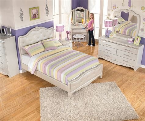 Best Zarollina B182 Full Size Upholstered Bed Girl S Bedroom Sets Ashley Furniture For Kids With Pictures
