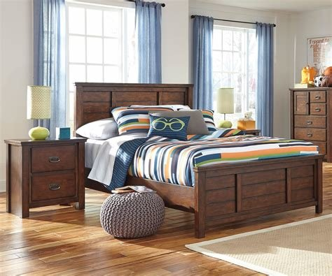 Best Ladiville B567 Panel Bed Full Size Ashley Furniture Boys And Girls Full Bedroom Set With Pictures