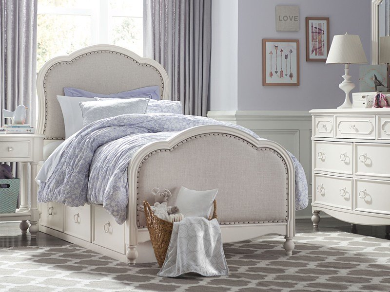 Best Ivy Upholstered Bed Bedroom Source With Pictures