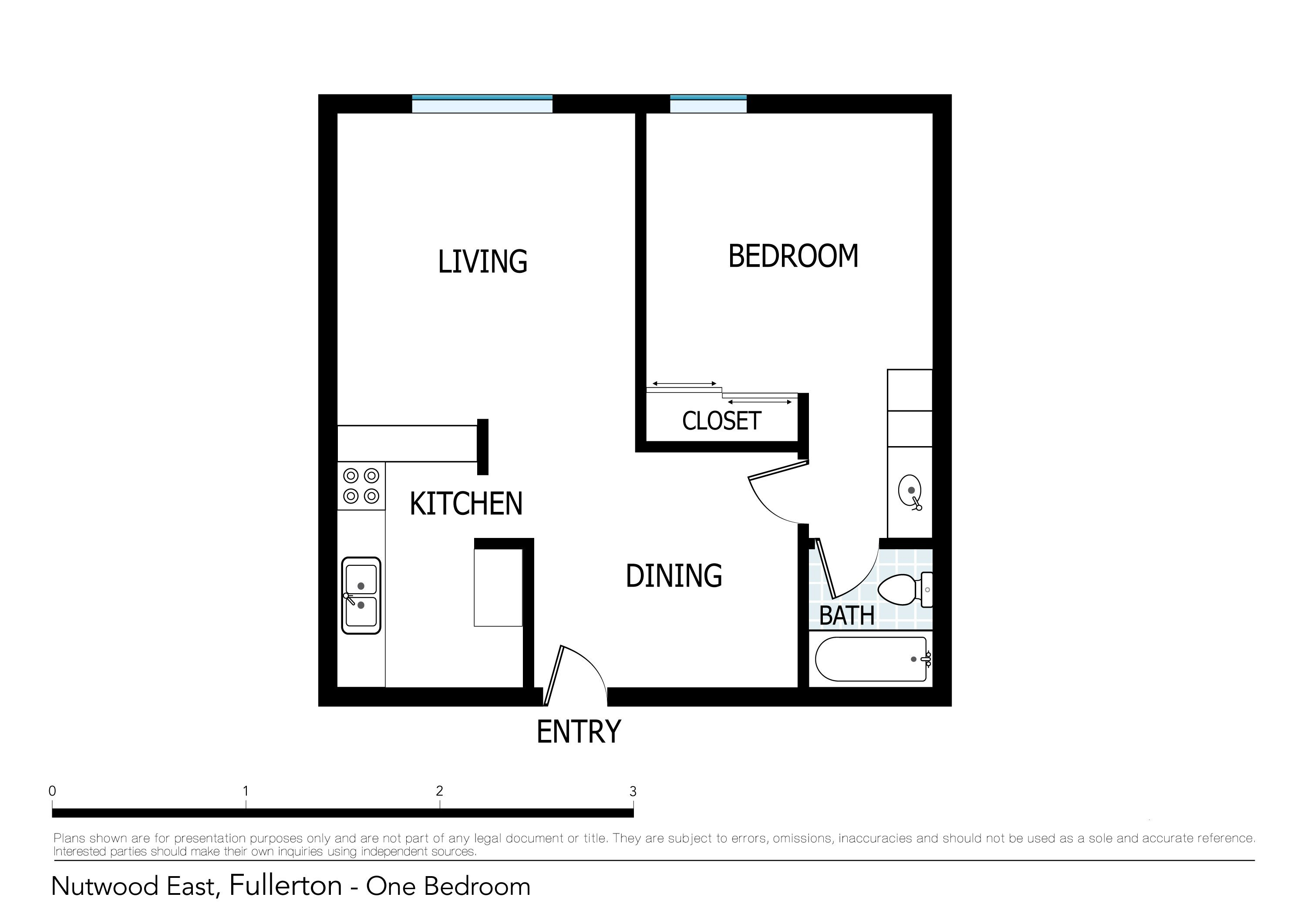 Best Floor Plans Of Nutwood Apartments In Fullerton Ca With Pictures Original 1024 x 768