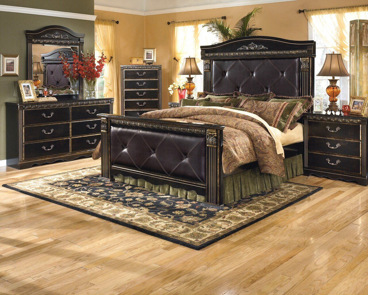 Best Briarwood Oversized Bedroom Set Cb Furniture With Pictures