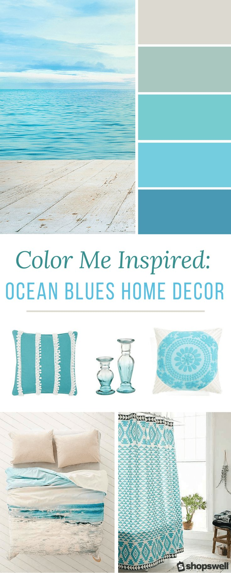 Best Color Me Inspired Ocean Blues Home Decor Inspiration With Pictures