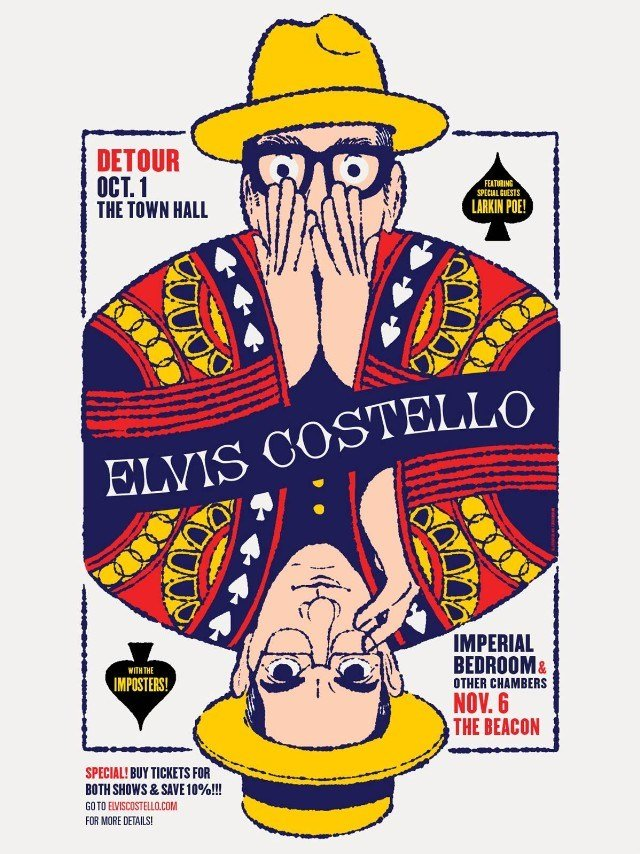 """Best Elvis Costello Announces Unique """"Imperial Bedroom Other With Pictures"""