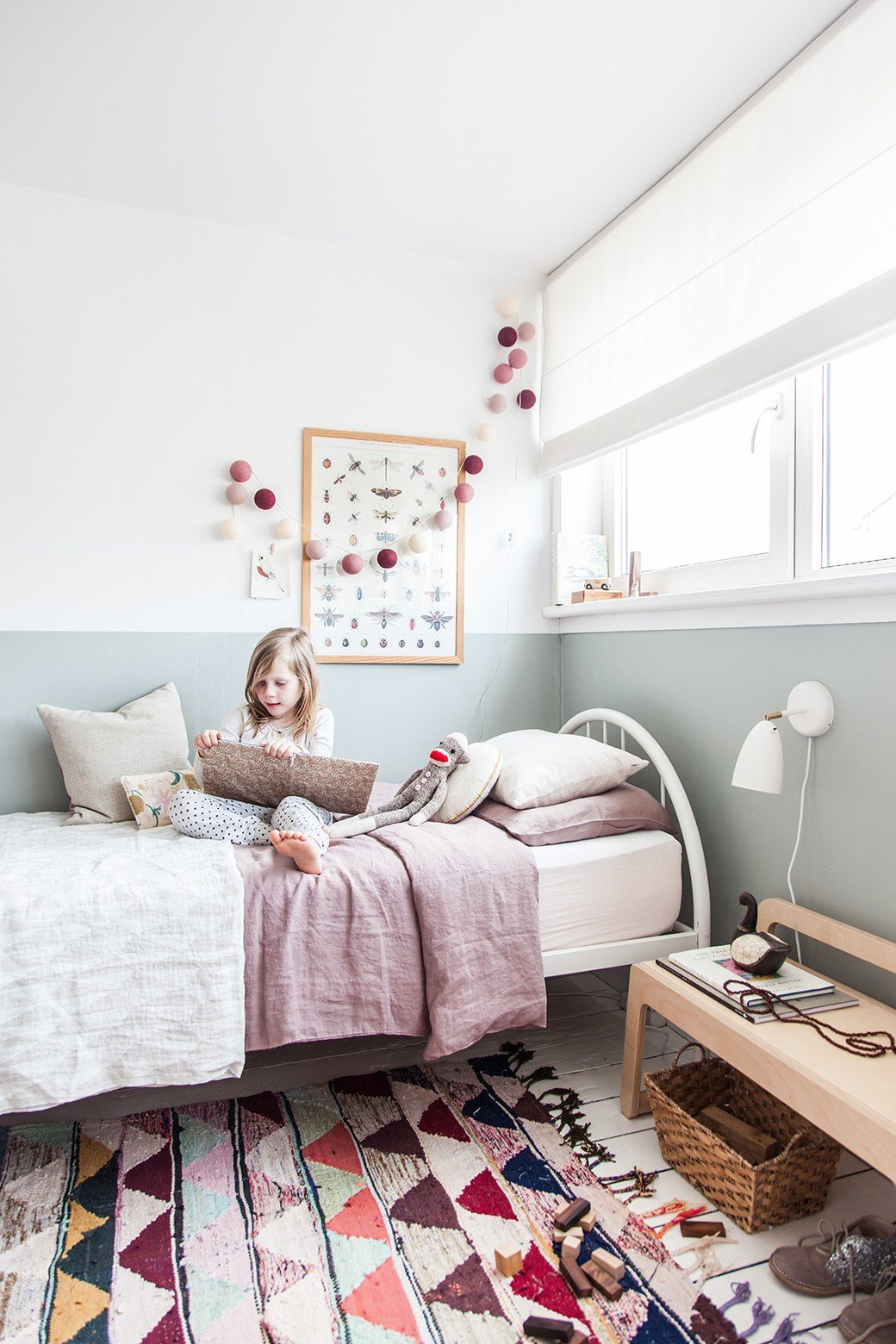 Best Ikea Wardrobe Hack In Charming Little Girl S Bedroom — Decor8 With Pictures