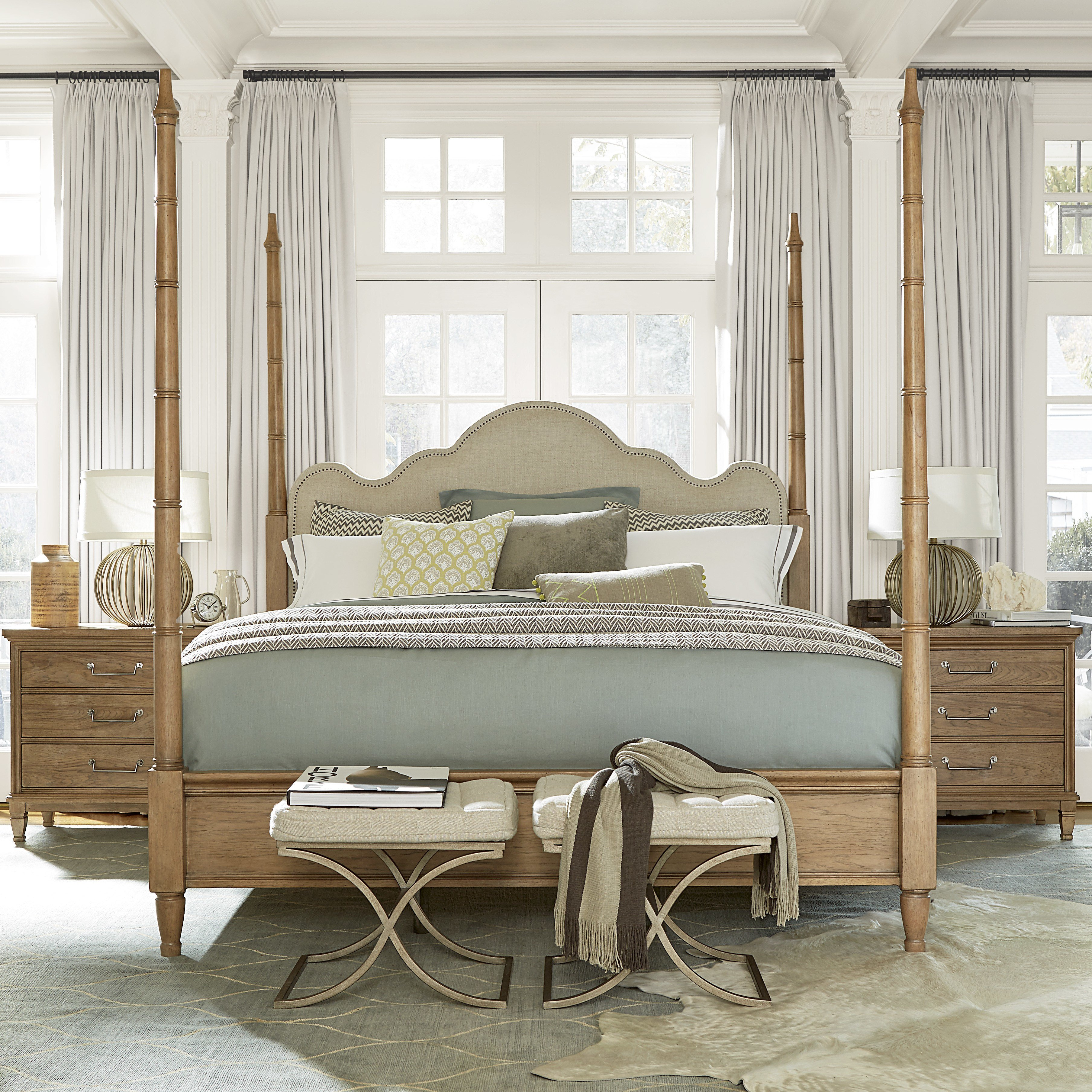 Best Universal Furniture Upholstered Four Poster Bed Reviews With Pictures
