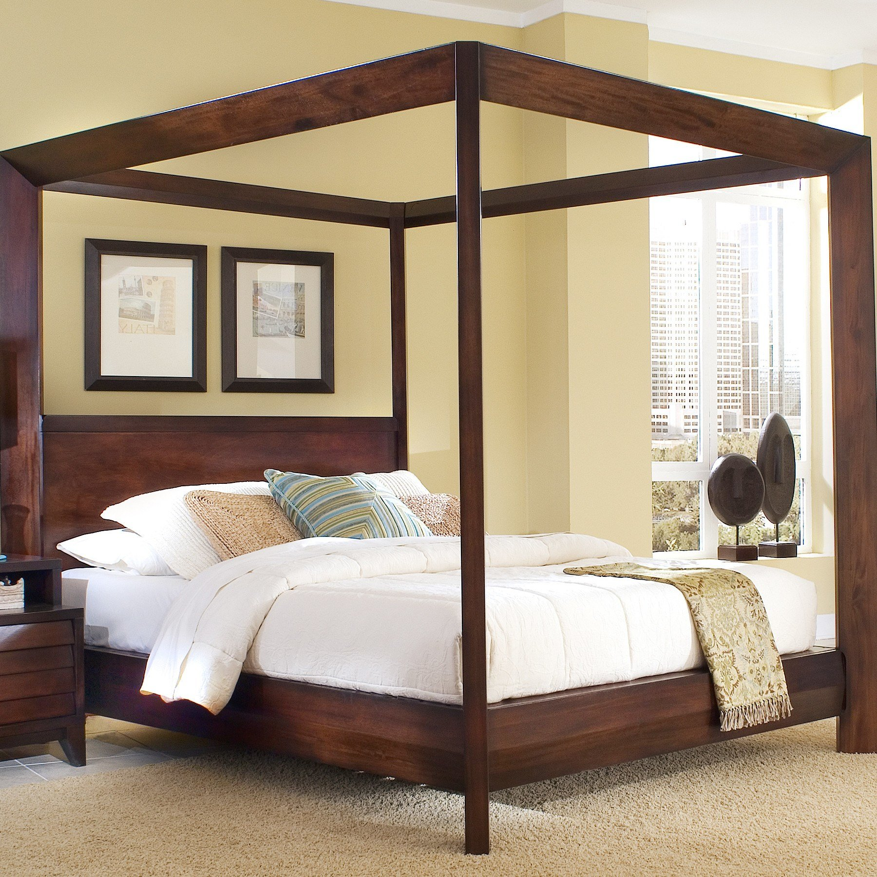 Best Home Image Island Canopy Customizable Bedroom Set With Pictures