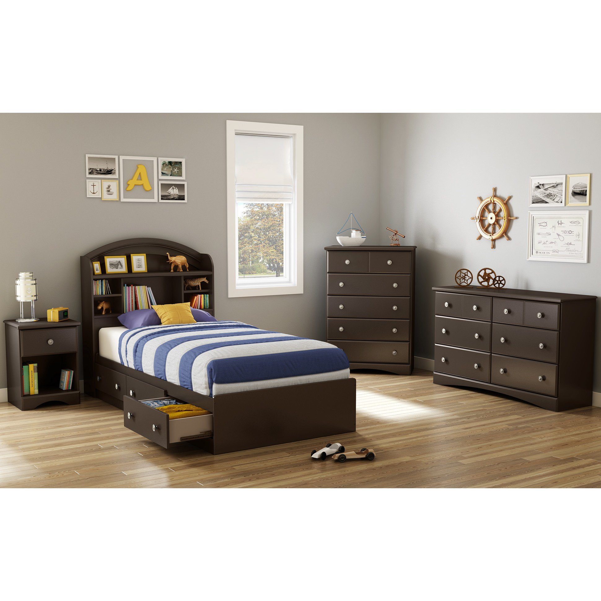 Best South Shore Morning Dew Mate S Bed With Storage Reviews With Pictures