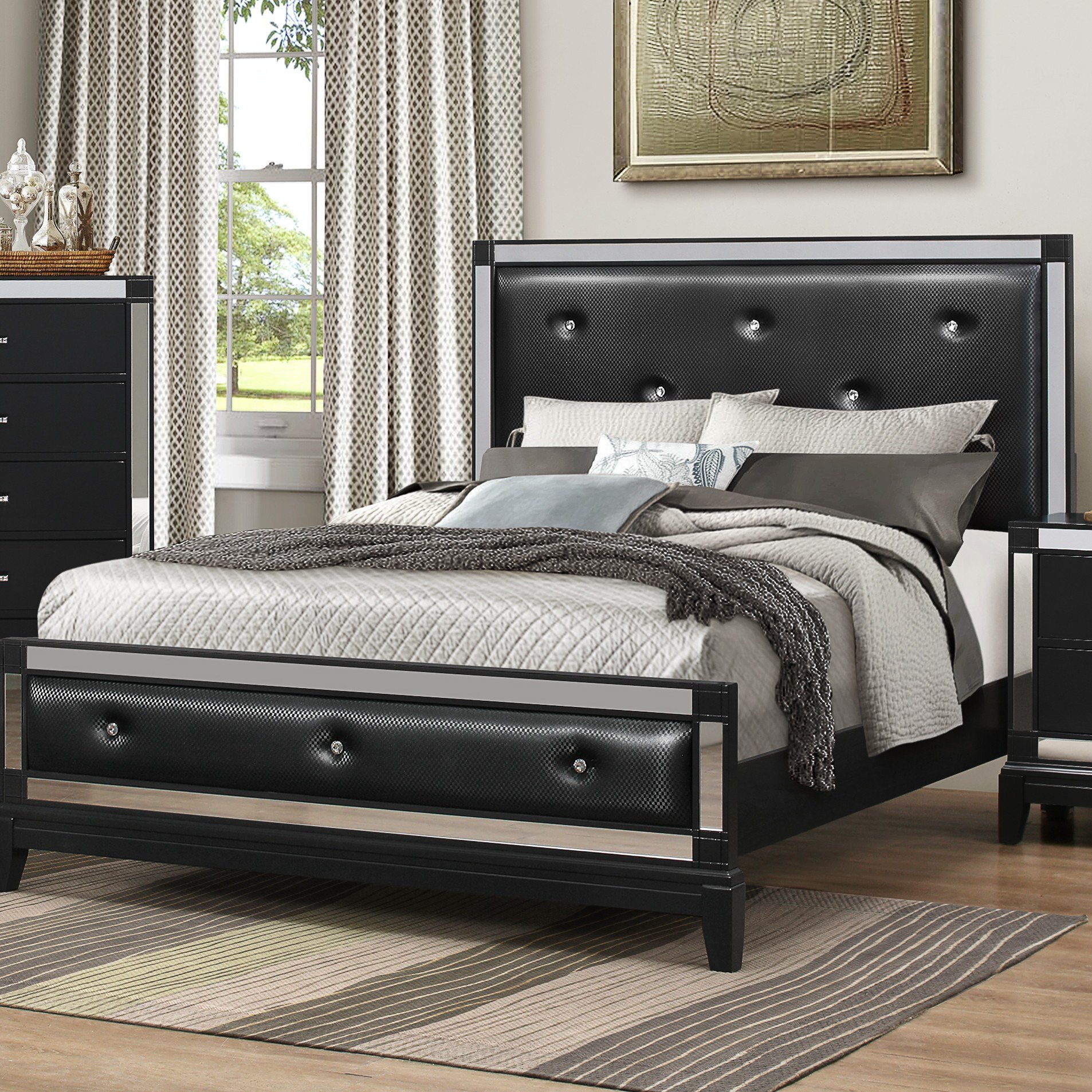 Best House Of Hampton Simmons Casegoods Panel Customizable Bedroom Set Reviews Wayfair With Pictures