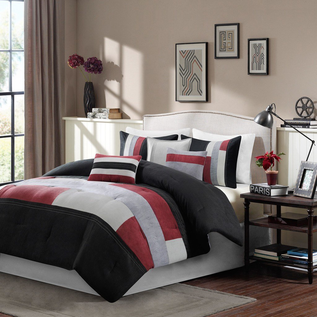 Best Madison Park Canyon 7 Piece Reversible Comforter Set With Pictures