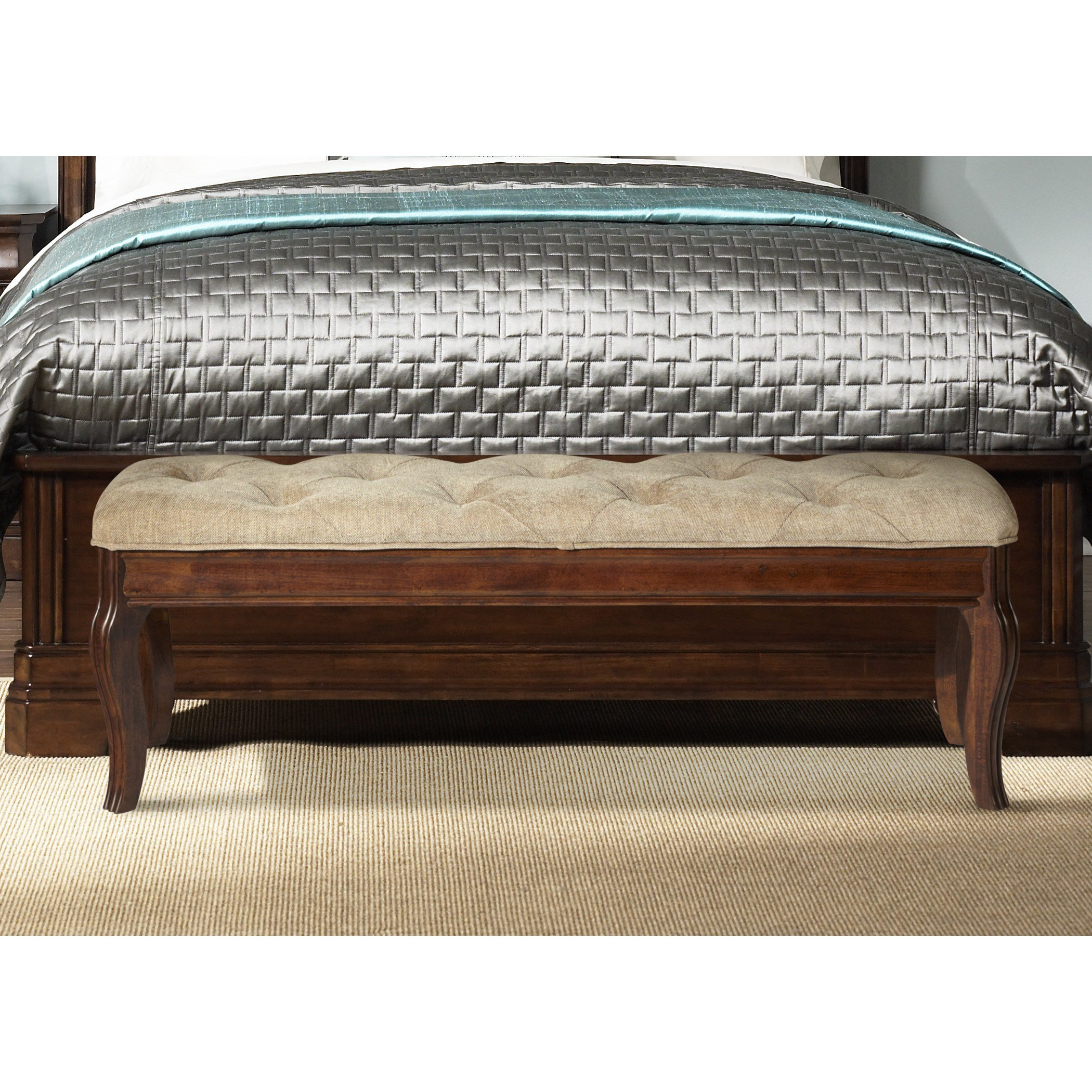 Best Rosalind Wheeler Ruppert Upholstered Bedroom Bench With Pictures