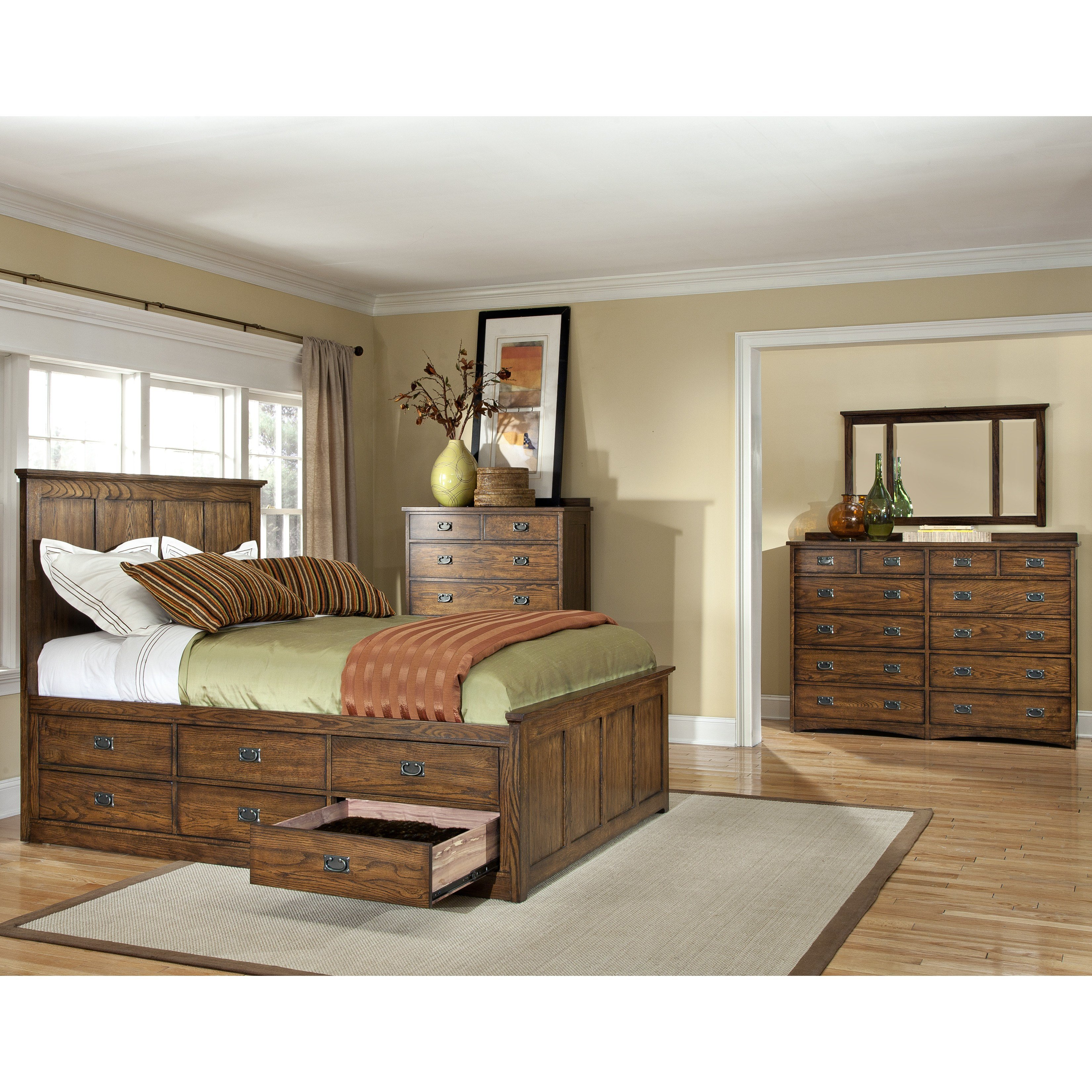 Best Imagio Home Oakhurst Panel Customizable Bedroom Set With Pictures