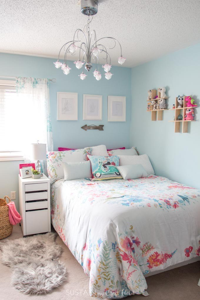 Best Tween Bedroom Ideas In Teal And Pink Mycolourjourney With Pictures