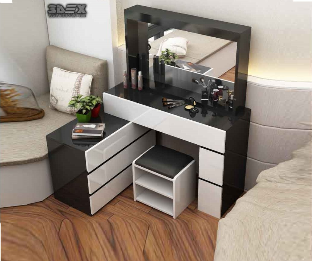 Best Latest Corner Dressing Table Designs For Small Bedroom With Pictures