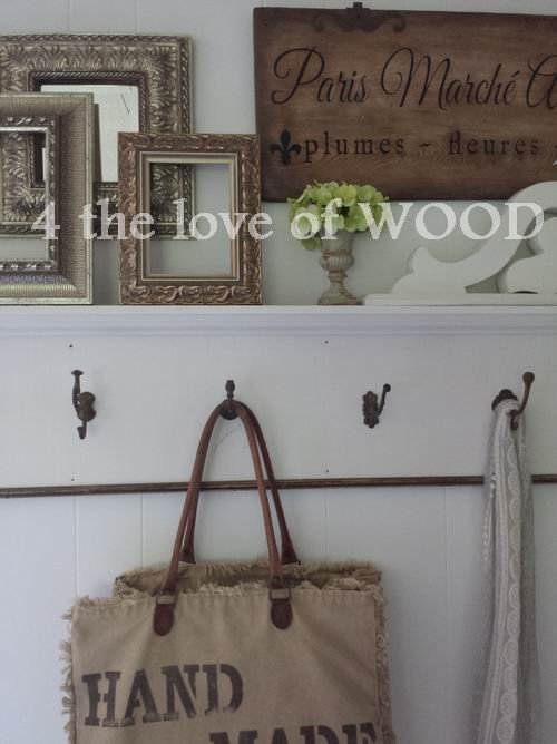 Best 4 The Love Of Wood Antique Wall Hooks Our Bedroom With Pictures