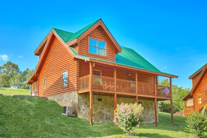 Best 2 Bedroom Log Cabin Rental Close To Pigeon Forge Blackberry Ridge With Pictures