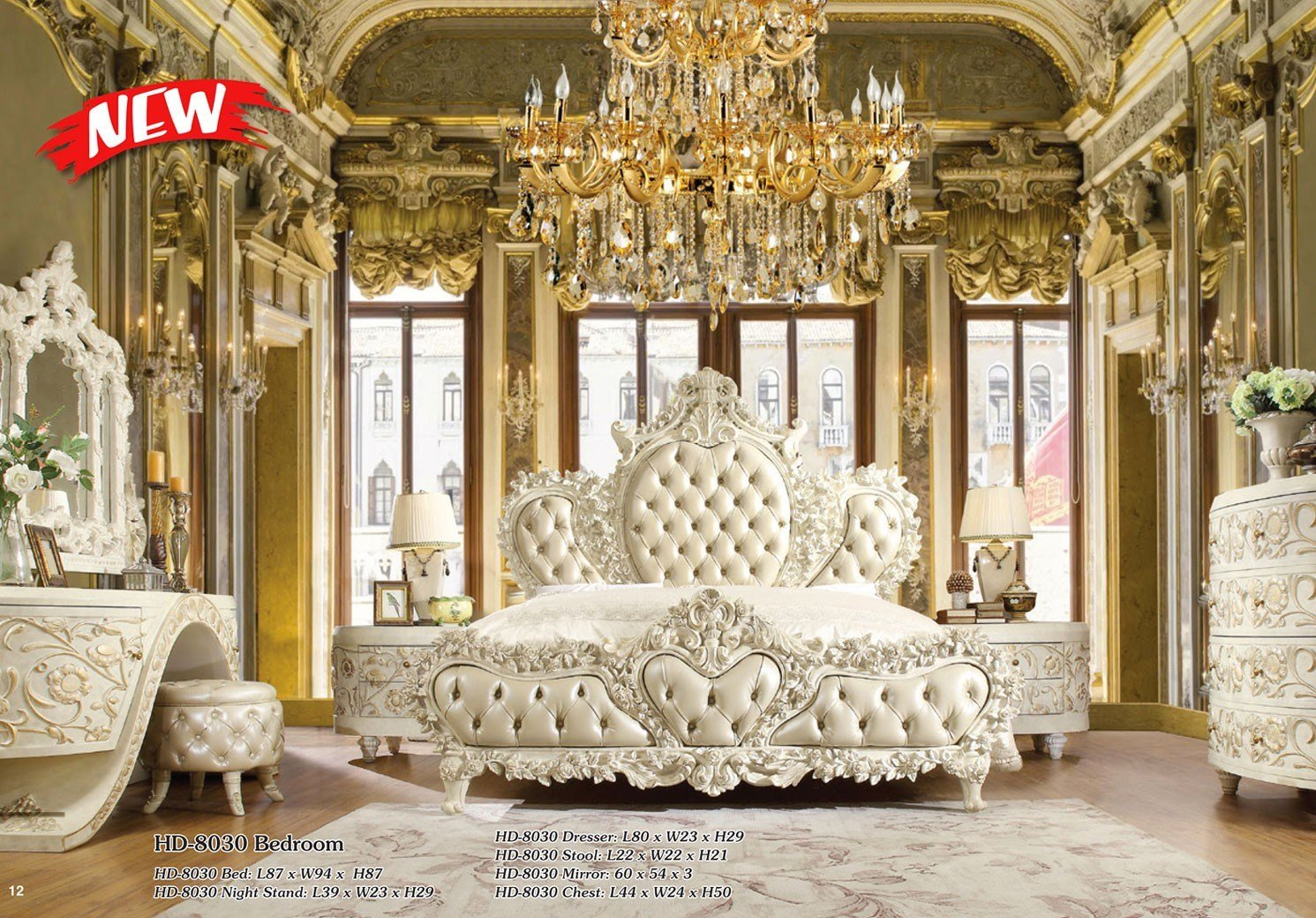 Best Hd 8030 H*M*Y Design Bedroom Set Victorian European With Pictures