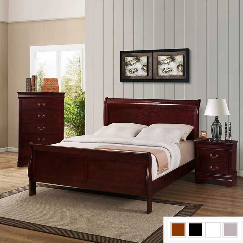 Best Sleigh Bed Collection Discount Furniture Portland Or With Pictures