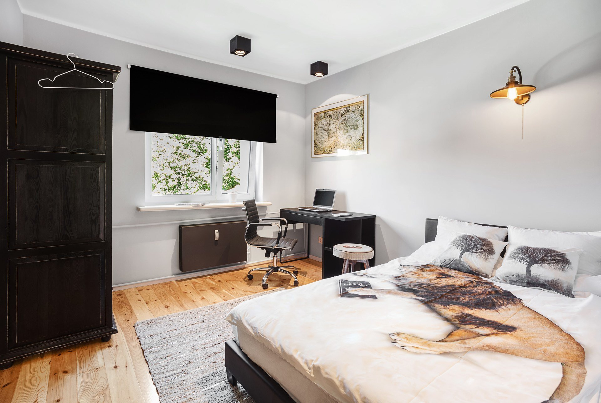 Best Single Bed Bedroom In A Large 4 Bedroom And 2 Floor Apartment In Gdansk Strzyża Wrzeszcz With Pictures