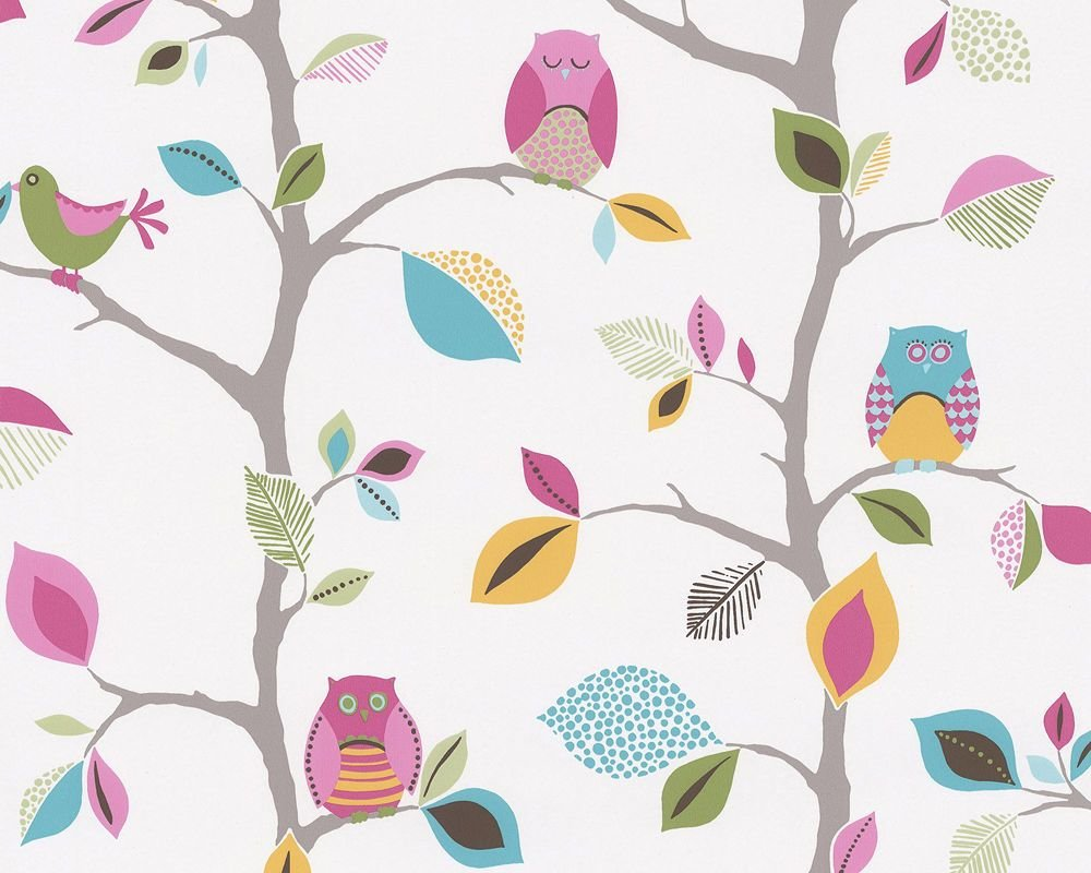Best Kids Party Owls Bedroom Nursery Childrens Wallpaper 8563 26 With Pictures
