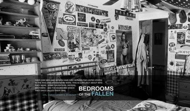 Best Bedrooms Of The Fallen – Ashley Gilbertson Vii Network – David Dare Parker With Pictures