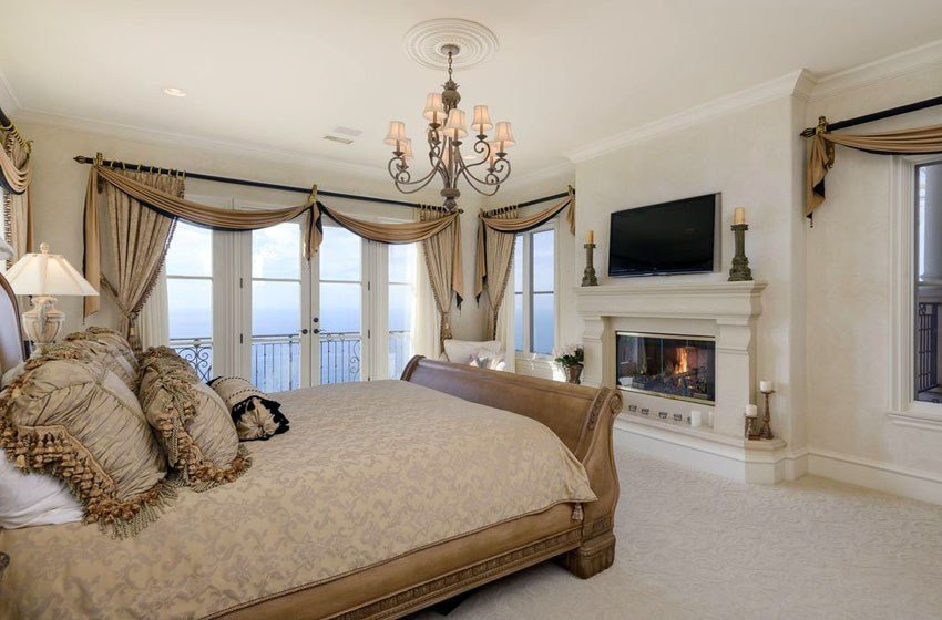 Best Luxury Master Bedrooms With Fireplaces Designing Idea With Pictures