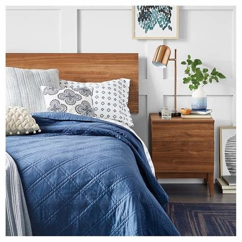 Best Siegel Full Headboard Walnut Project 62 Target With Pictures