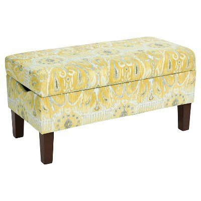 Best Skyline Bedroom Patterned Storage Bench Skyline With Pictures