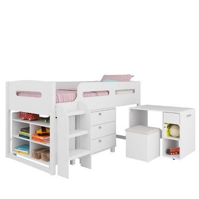 Best Corliving Kids Bedroom Set White Target With Pictures