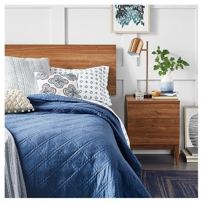 Best Calm Blue Modern Bedroom Collection Target With Pictures