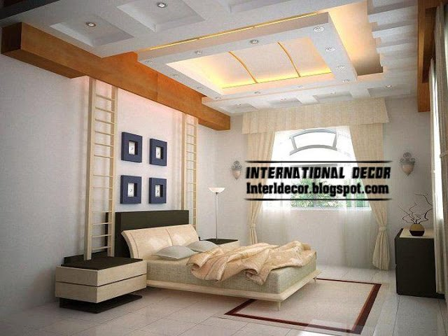 Best Modern Pop False Ceiling Designs For Bedroom 2017 With Pictures