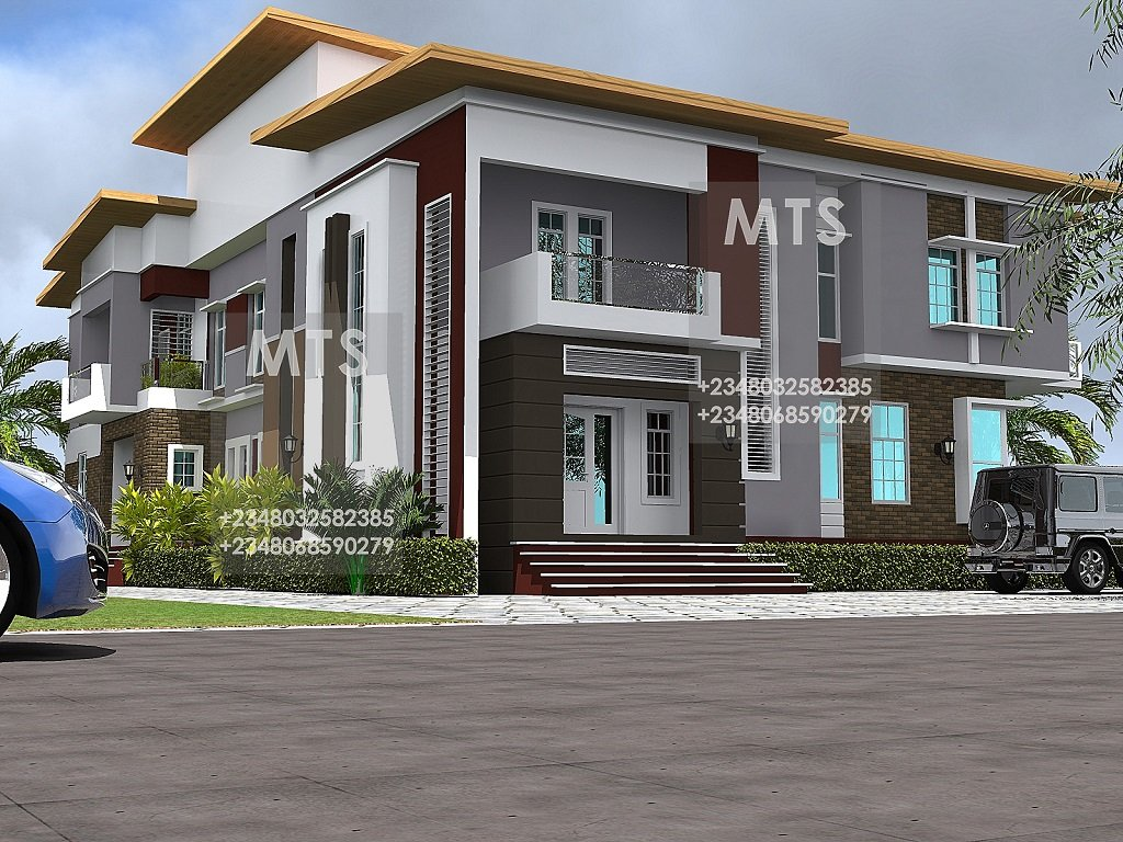 Best Mr Olayemi 4 Bedroom 3 Bedroom Twin Duplex Modern And With Pictures