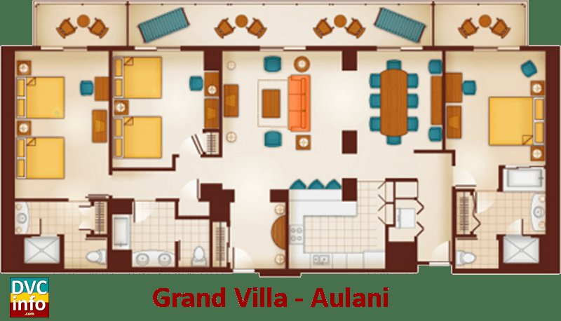 Best Grand Floridian 2 Bedroom Villa Floor Plan 28 Images With Pictures