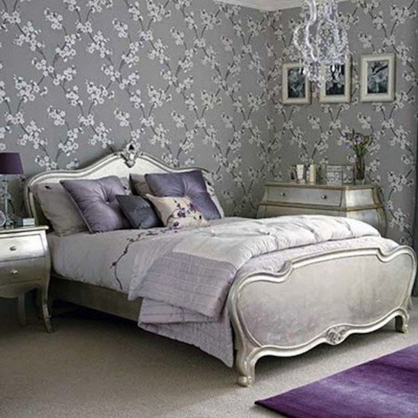 Best Color Scheme Purple And Silver Eclectic Living Home With Pictures