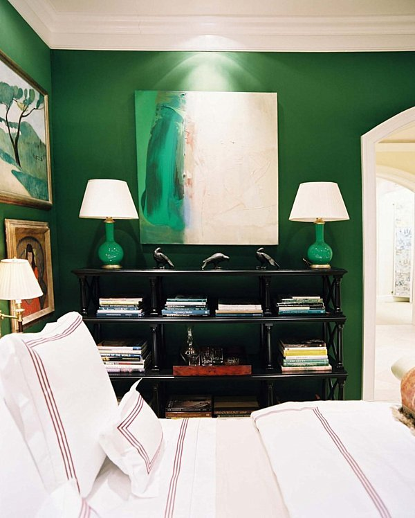 Best Color Scheme Emerald Green And Sapphire Blue Eclectic With Pictures