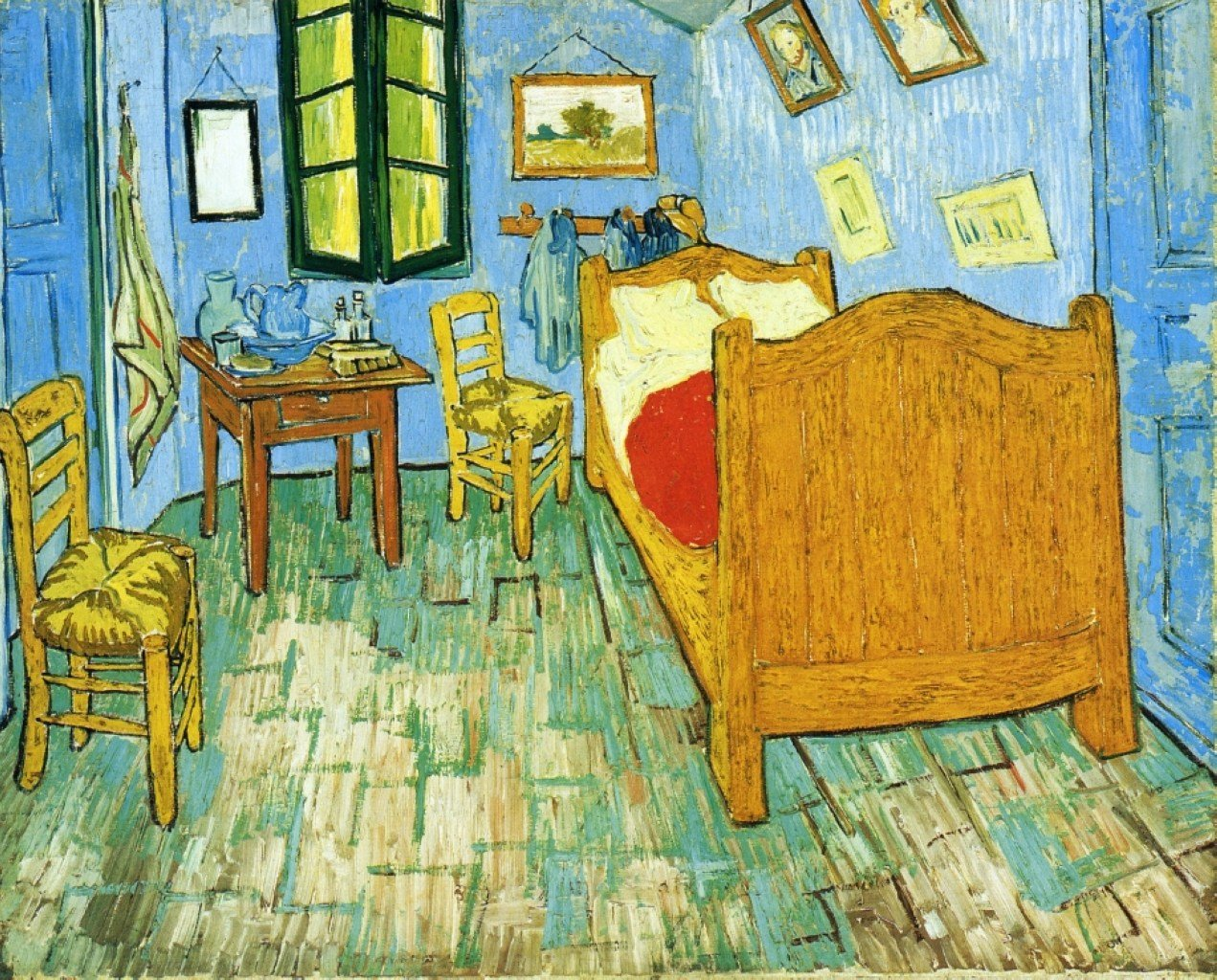Best Vincent S Bedroom In Arles 1889 Vincent Van Gogh Wikiart Org With Pictures