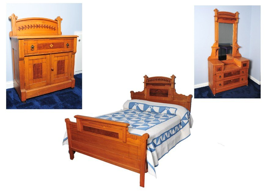 Best Antique Eastlake Bedroom Set Ebth With Pictures
