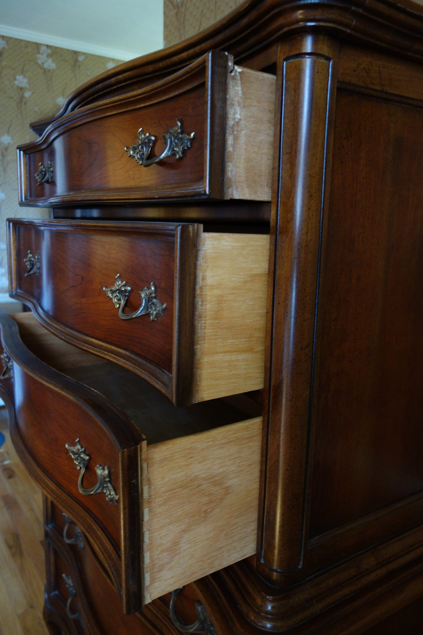 Best Vintage Dixie Furniture French Provincial Bedroom Set 7 With Pictures