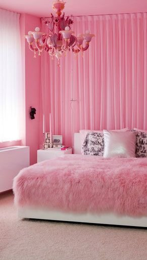 Best Pink Bedroom Interior Design Ideas With Images Founterior With Pictures