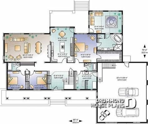 Best House Plan W3600 Detail From Drummondhouseplans Com With Pictures
