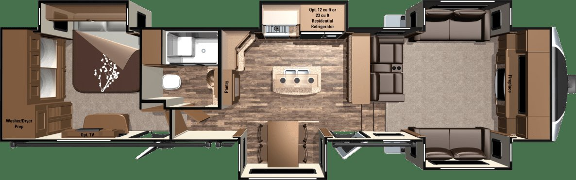 Best 2016 Open Range 3X Fifth Wheels 3X377Flr By Highland Ridge Rv With Pictures