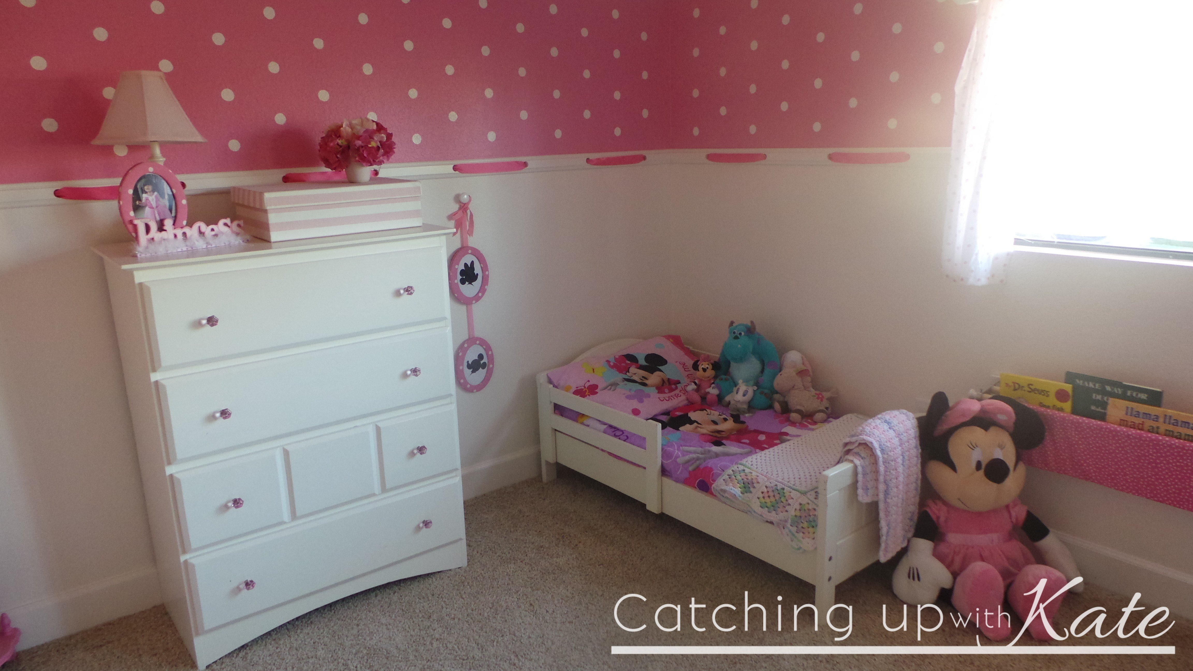 Best Minnie Mouse Room Diy Decor Highlights Along The Way With Pictures