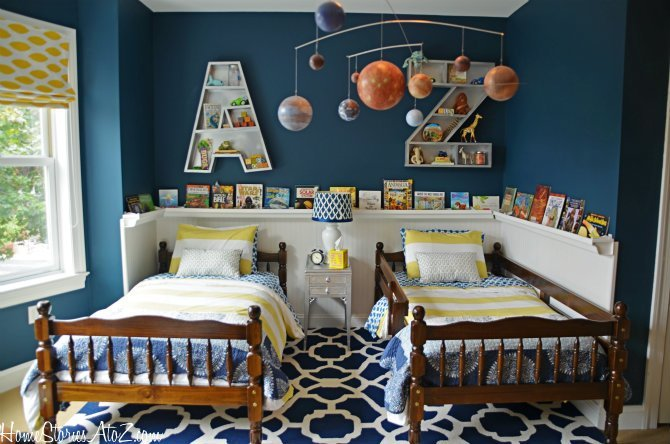 Best Boys Bedroom Reveal Home Stories A To Z With Pictures