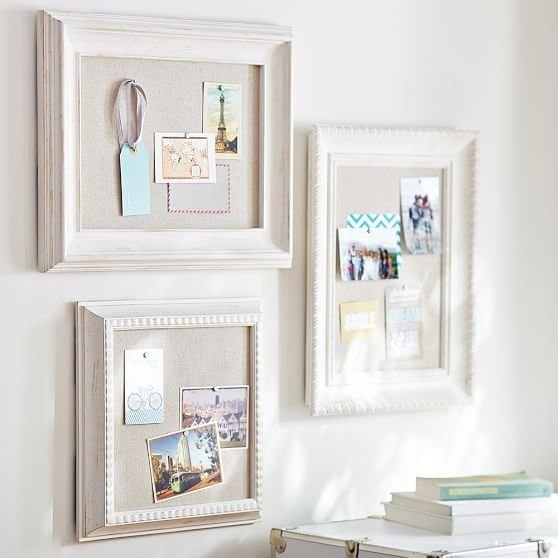 Best Wooden Eclectic Framed Pinboards Set Of 3 Pbteen With Pictures