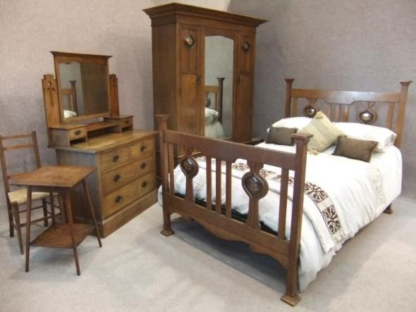 Best Arts And Crafts Bedroom Suite With Pictures