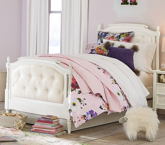 Best Blythe Tufted Bedroom Set Pottery Barn Kids With Pictures